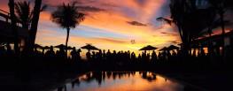 KU DE TA sunset